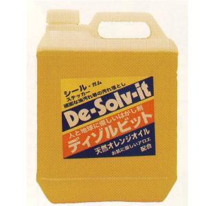 オレンジゾル社 ディゾルビット (De-solv-it) 業務用 はくり剤 1ガロン 3785ml|interiortool