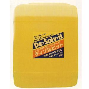 オレンジゾル社 ディゾルビット (De-solv-it) 業務用 はくり剤 5ガロン 18.9L|interiortool