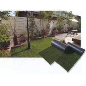 グリーンフィールド リアリーターフ 芝の高さ約40mm人工芝 防炎 抗菌仕様 1m巾×10m|interiortool