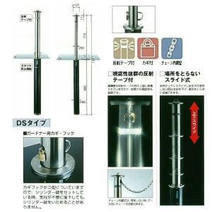 グリーンライフ ガードナー DSC-5L カギ付 チェーン内蔵型 Φ50mm ステンレス 1つ|interiortool