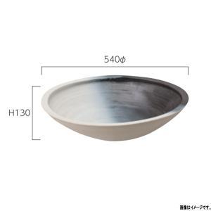 グローベン 信楽焼 水鉢 あすか・中 A60CGH010 540φ×H130mm interiortool