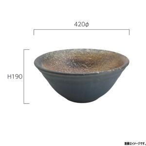 グローベン 信楽焼 水鉢 幽玄 A60CGH021 420φ×H190mm interiortool