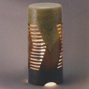 グローベン 信楽焼 庭園灯 流れ A60CGL009S 200φ×H450|interiortool