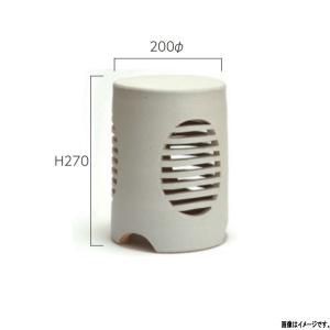 グローベン 信楽焼 庭園灯 しろぎぬ A60CGL020S 200φ×H270mm interiortool