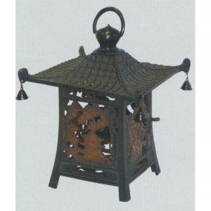 グローベン 吊灯篭 富士桜閣 銅製 燻処理 A60TJA007 196×196×H240|interiortool