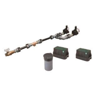 グローベン 電磁弁ユニット(減圧弁なし)2系統 口径20A- AC24V用 C10SBY 200|interiortool