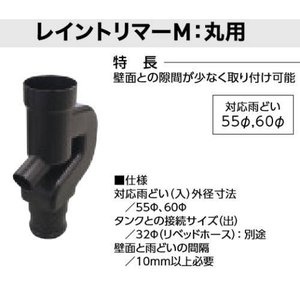 グローベン レイントリマーM:丸用 C20GR303M|interiortool