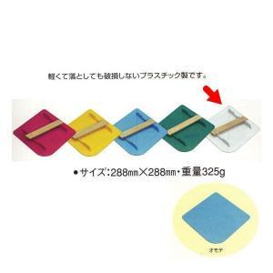 広島 パテ板 288×288mm ホワイト 202-09 1つ|interiortool
