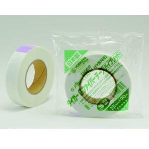 ファイバーテープ ハイブリッド 35mm×90m 0.13mm厚|interiortool