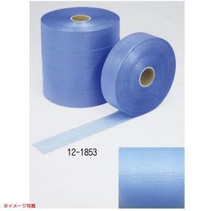 極東産機 エンボス太巻1000 巾45mm×長1000m ブルー 12-1853 5巻|interiortool
