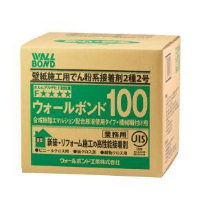 矢沢化学 ウォールボンド100(ボンド入 原液使用型) 18kg箱入(6kg×3) 1つ 13-8648 interiortool