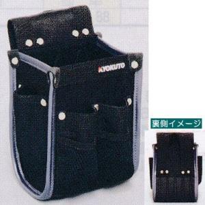 特長  床作業に適した軽量でコンパクトな腰袋です。  前面ポケットはフック刃が開口部に引っかからない...
