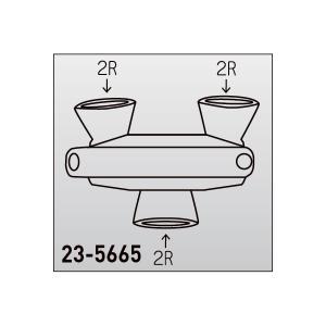 極東産機 トリプルプッシャー 2R 1つ 23-5665|interiortool|02