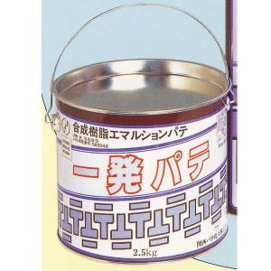 関西パテ 一発パテ 2.5kg 1缶|interiortool
