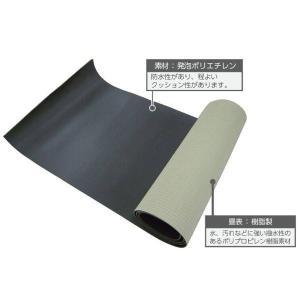送料無料 脱衣場用 湯上がりたたみ 幅89cm×10m巻 厚み6mm|interiortool