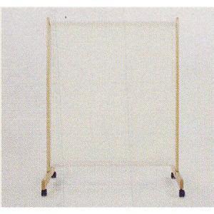 極東産機 布張りパーテーション(キャスター付き) 1連H150 アイボリー 1つ|interiortool