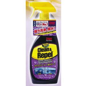ストーナー クリーン&リベル 車のガラスクリーナー 撥水効果あり 品番1731 651ml 1本|interiortool