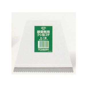 用途  床用糊、床用接着剤の均一塗布に使用します。  サイズ  巾150×長130×厚5mm
