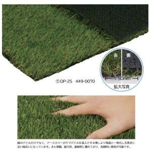 ミヅシマ 人工芝 DP 幅1820mm×長さ10m パイル長さ25mm DP-25 449-0070|interiortool