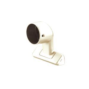 丸喜金属 MK 35φ真壁用ブラケット(止) バリアフリー用品 亜鉛ダイカスト+樹脂 D-258 interiortool