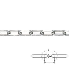 水本機械 一般用レギュラーチェーン 線径5mm 5-B 1m長価格|interiortool