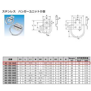 水本機械 ステンレス SUS304 ハンガーユニットD型 HD-1(B-844)|interiortool