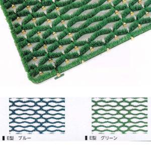 ミヅシマ 樹脂マット ニューマット E型 500×1000mm 402-0980ブルー 402-0990グリーン interiortool