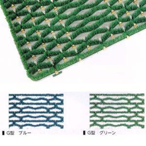 ミヅシマ 樹脂マット ニューマット G型 500×1000mm 402-0920ブルー 402-0930グリーン interiortool