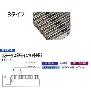 ミヅシマ工業 落とし込みマット 金属 サイレントマット Bタイプ 平米単価 400-0130|interiortool