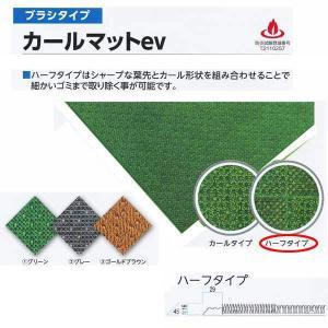 ミヅシマ工業 エレベーター用床材 ブラシタイプ カールマットev #23ハーフタイプ・枠無 平米単価(サイズにより価格変)|interiortool