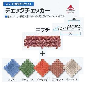 ミヅシマ工業 チェックチェッカー用 中フチ+ 65×150mm 15mm厚 1つ|interiortool