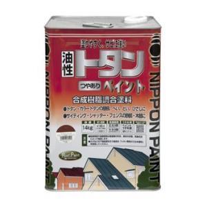 送料無料 ニッペ 油性塗料 トタンつやありペイント 14kg|interiortool