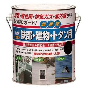 ニッペ 油性 鉄部・建物・トタン用 塗料 1.6L|interiortool