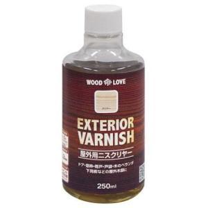 ニッペ 屋外用ニスクリヤー EXTERIOR VARNISH 250ml|interiortool