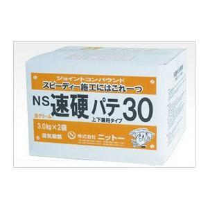 ニットー NS 速硬パテ30 6kg箱(3kg×2)
