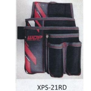 NEXUS 釘袋 工具差付腰袋 ニューポリ XPS-21RD(レッド) 約H290×W270×D170mm|interiortool