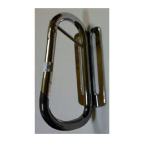 メクセス カラビナ工具差し ピン付 NXT-17G PVCガード付|interiortool