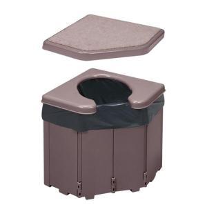 サンコー ポータブルコーナートイレ R-46 interiortool