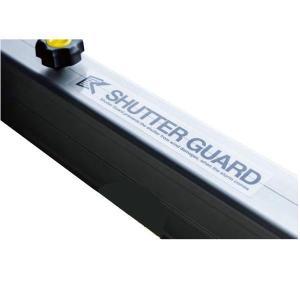 沢田防災 シャッターガード 3.5〜5.0m SG-CL3500 防風対策 内側用と外側用の2本セット|interiortool