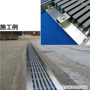 シマブン U字溝用樹脂グレーチング(歩道用) オプション 連結金具 GRU-OP1|interiortool
