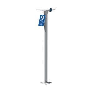 サンポール カメラスタンド SELFIE STAND CMS-101B φ60.5(t1.5) H1300 記念撮影用ポール interiortool