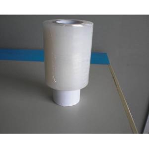 ミニストレッチフィルム 20ミクロン 100mm巾×150m巻 50巻(フォルダー1個付き)|interiortool