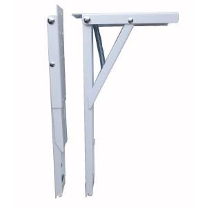 田邊金属 TANNER ジャンボ60 棚受け 耐荷重100kgの折りたたみ式 棚受け金具 1組(2本)|interiortool