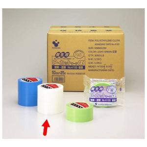 寺岡製作所 養生テープ Pカットテープ NO.4100 透明 巾50mm×長25m 1巻|interiortool