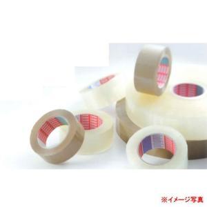 テサテープ 一般包装用 OPPテープ 4266 透明か茶色 50mm幅×50m長 厚み65μ 50巻|interiortool