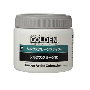 ターナー色彩 ゴールデンアクリリックス用 メディウム シルクスクリーンメディウム 350ml|interiortool