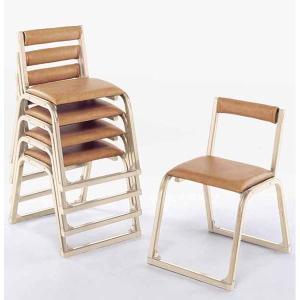 UACJ 本堂用椅子 1-JA型 香色 65285 5脚セット|interiortool