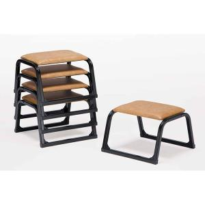 UACJ 本堂用椅子 1-LTB型 低座タイプ 黒色 65330 5脚セット|interiortool