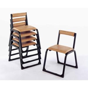 UACJ 本堂用椅子 1-TA型 黒色 65335 5脚セット|interiortool