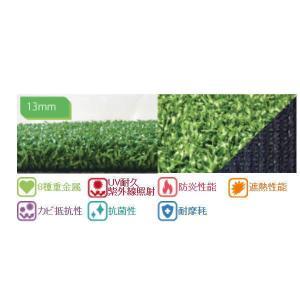 ユニオンビズ ゴルフ用 高品質人工芝 ACターフ GFP 13mm MTG13-0210 2m巾×10m長|interiortool